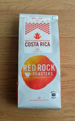 Costa Rica coffee from Redrock
