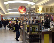 gourmet coffee in mall