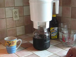 Toddy cold brew coffee system.