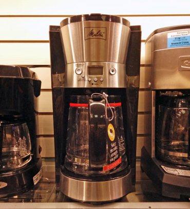 Melitta 12-Cup Coffeemaker.