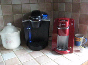 A Demonstration Of The Keurig B30 Mini K Cup Brewer