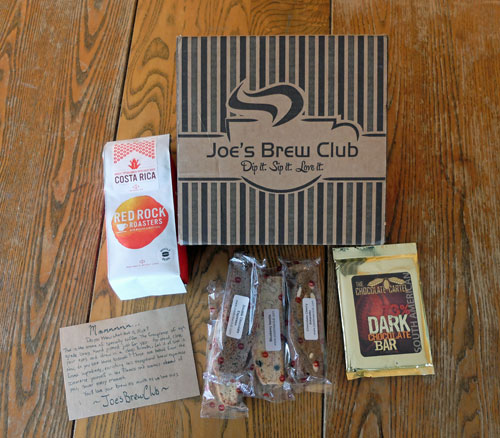 Package from Joe's Brew Club