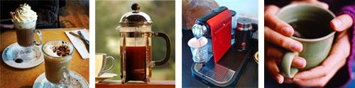 gourmet coffee makers and coffee grinders