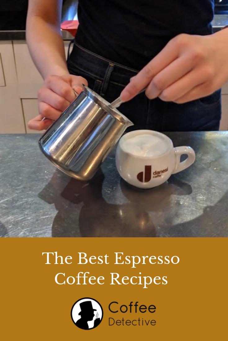 Best espresso coffee drink recipes