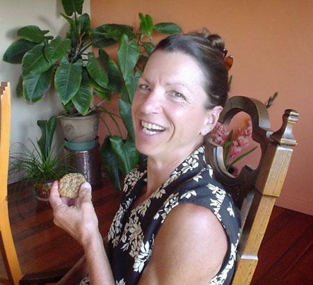 Bobbie Becker at Maui Mountain Home Grown.