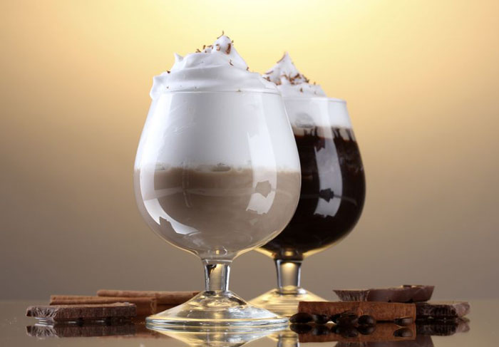 alcoholic coffee drinks