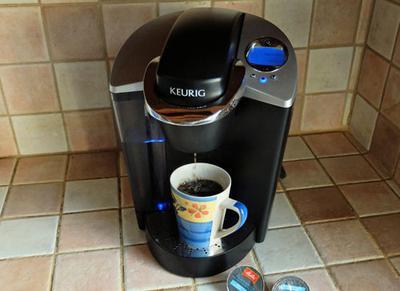 The Keurig B60 K-Cup brewer.