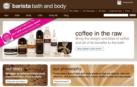 Topical coffee products for your hair and skin