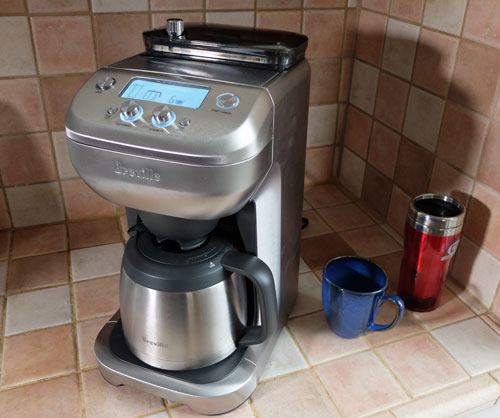 The Breville Grind Control coffee maker