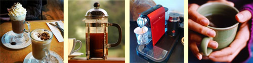gourmet coffee makers and coffee grinders