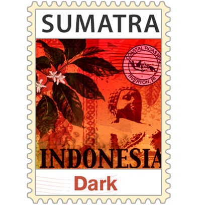 coastal roaster Sumatra dark roasted coffee