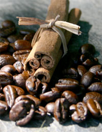 Coffee Beans & Cinnamon