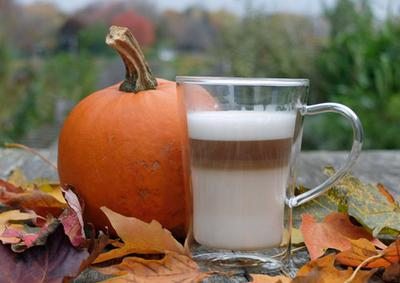 Pumpkin flavor coffee.