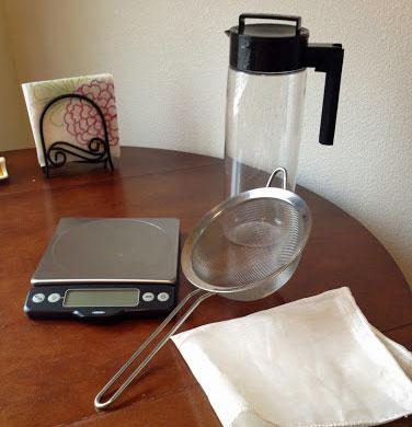 Cold-brew coffee equipment