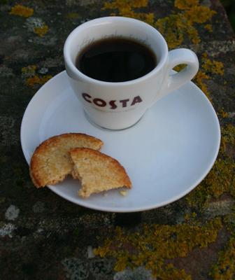Costa Coffee espresso cup.