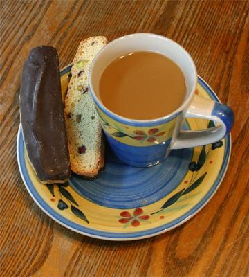 David's Chocolate Biscotti