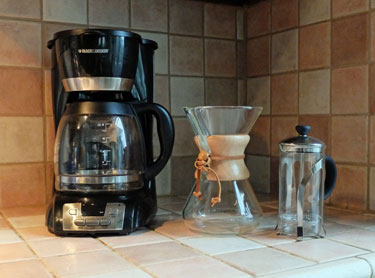 different coffee makers for true coffee lovers