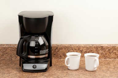 Inexpensive drip coffee maker