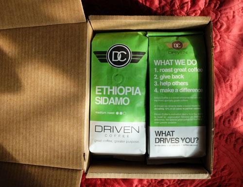 Ethiopia Sidamo coffee