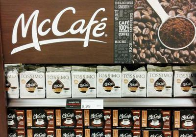 McCafe coffees at your local supermarket.