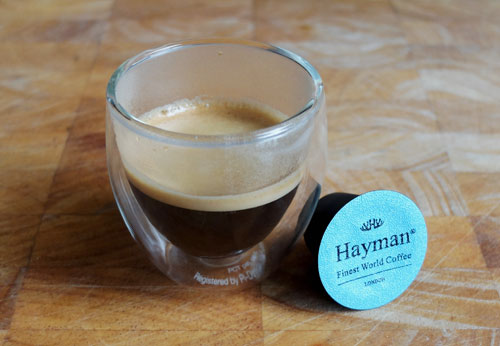 Hayman Coffee Jamaica Blue Mountain espresso