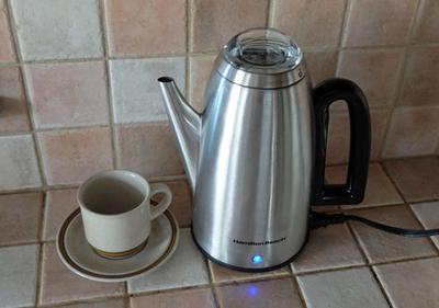 I tried them all percolators are the best ge immersible 1970 for Best coffee percolator