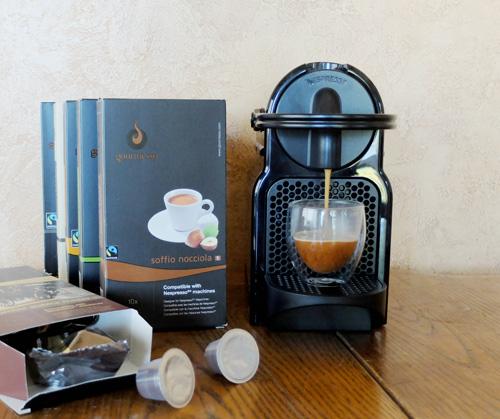 Inissia Nespresso espresso machine