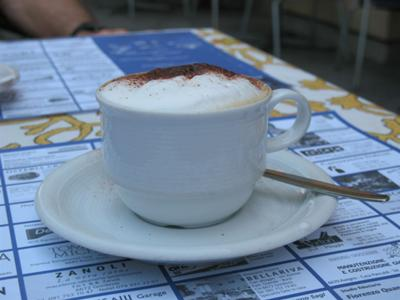 Cappuccino In Bellinzona