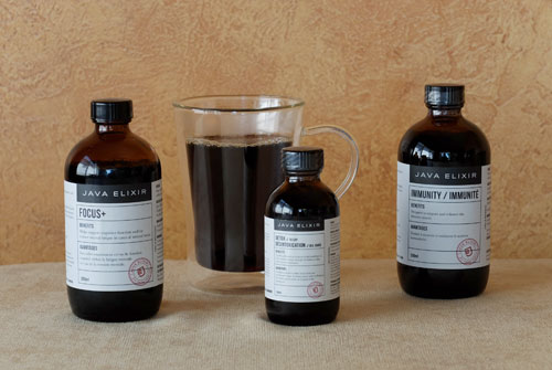 Java Elixir health supplements