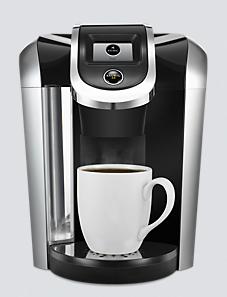 Keurig 2.0 coffee brewing system.