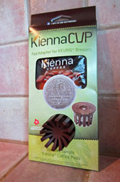 kienna coffee pod adapter for keurig brewers