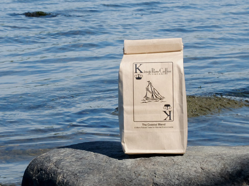 King's Row Coffee Coastal Blend.