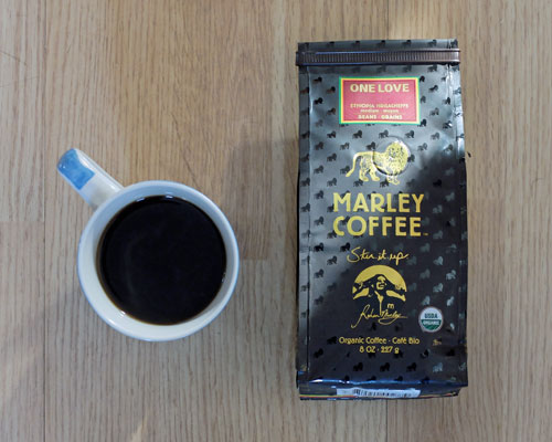 Marley Coffee – One Love Ethiopia Yirgacheffe.