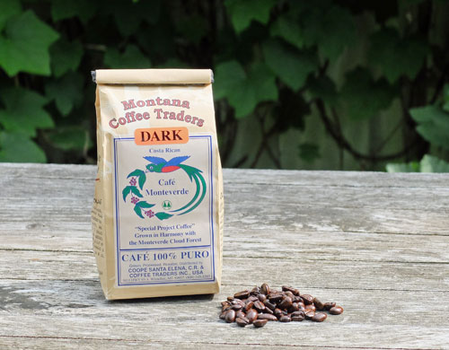 Cafe Monteverde from Montana Coffee Traders.