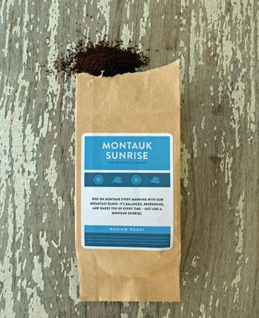 Montauk Sunrise breakfast coffee from Hamptons Lane