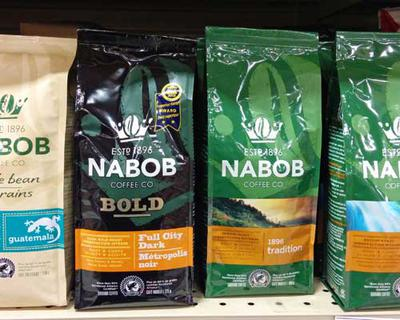 Some Nabob coffees.