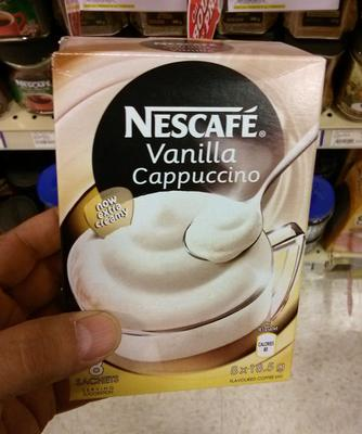 This is cappuccino? Really?