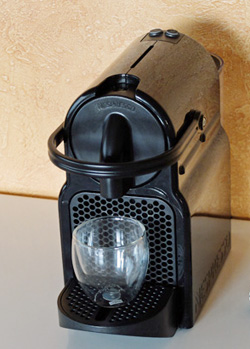 Nespresso Inissia espresso machine.