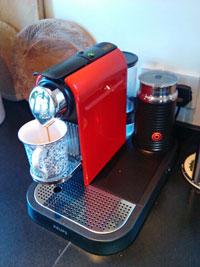 Nespresso espresso machines
