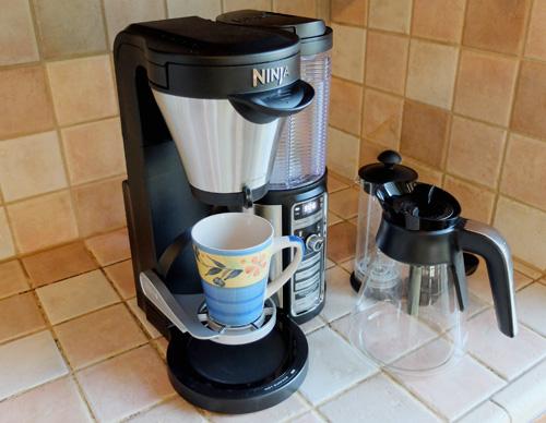 Ninja Coffee Bar mug stand.