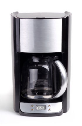 plastic taste with new coffee maker