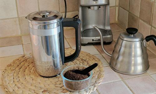 The KitchenAid Precision Press Coffee Maker.