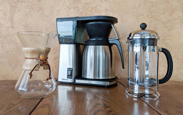 Coffee makers the pros use