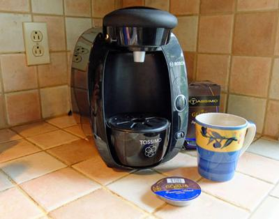 The Tassimo T20 and Disc