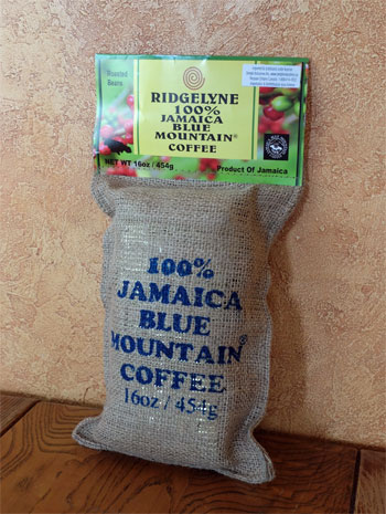 100% Blue Mountain Coffee