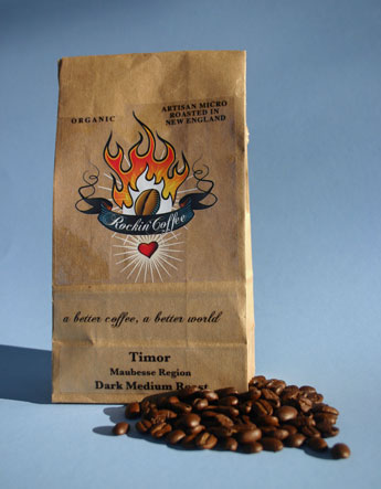 Timor Maubesse organic coffee, by Rockin' Coffee