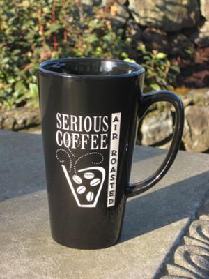 Nice coffee mug from Serious Coffee