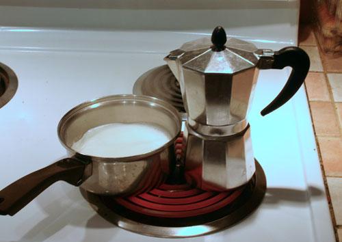 Bialetti stovetop espresso machine.