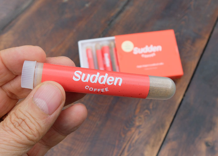 Sudden coffee instant coffee