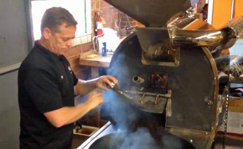 Tell Market coffee roaster